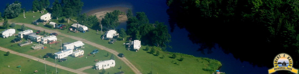 Photo of Baird's Campground along the St John River in Perth Andover, NB