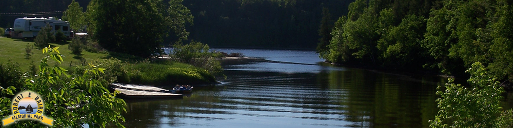 Photo of the Larlee Creek view of the St John River